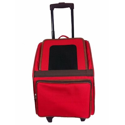 Maggiemae Pet Carrier Color: Red