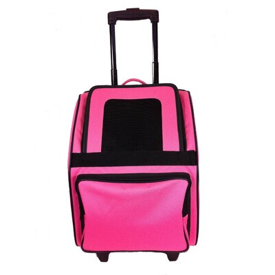 Maggiemae Pet Carrier Color: Fuschia