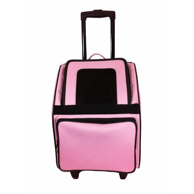 Maggiemae Pet Carrier Color: Light Pink