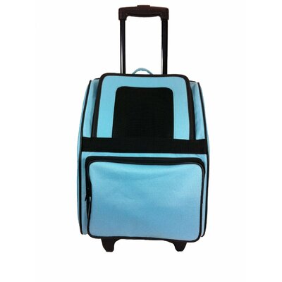 Maggiemae Pet Carrier Color: Turquoise
