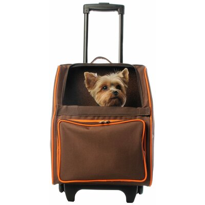 Maggiemae Pet Carrier Color: Chocolate