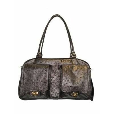 Peabody Ostrich Pet Carrier
