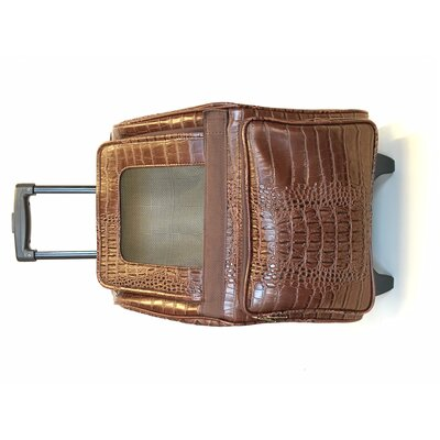 Rio Croco Pet Carrier Color: Brown