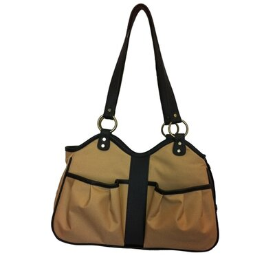 Metro 2 Pet Carrier Size: Small (9 H x 8 W x 17 L), Color: Khaki