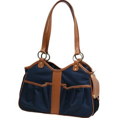 Metro 2 Pet Carrier Size: Large (11.5 H x 8.5 W x 20.5 L), Color: Navy