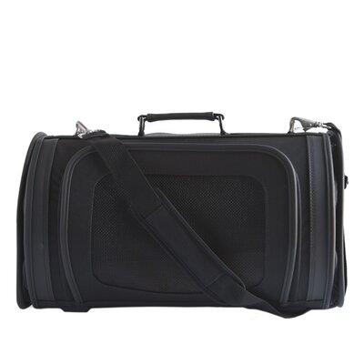 Petote Classic Kelle Black Pet Carrier Size: Small (9 H x 8 W x 14 L)