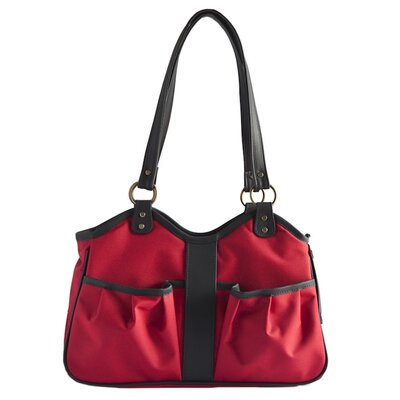 Metro 2 Pet Carrier Size: Large (11.5 H x 8.5 W x 20.5 L), Color: Red