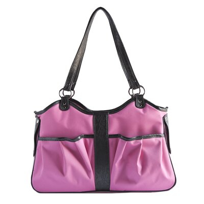 Metro 2 Pet Carrier Size: Large (11.5 H x 8.5 W x 20.5 L), Color: Fuchsia
