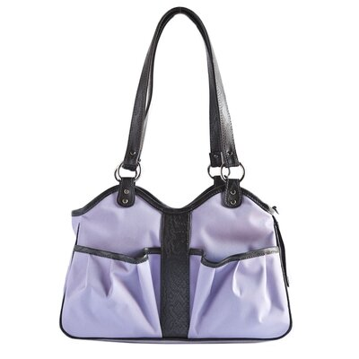 Metro 2 Pet Carrier Size: Large (11.5 H x 8.5 W x 20.5 L), Color: Lilac