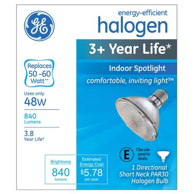 48W Halogen Light Bulb