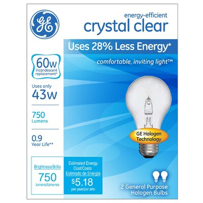 43W Halogen Light Bulb