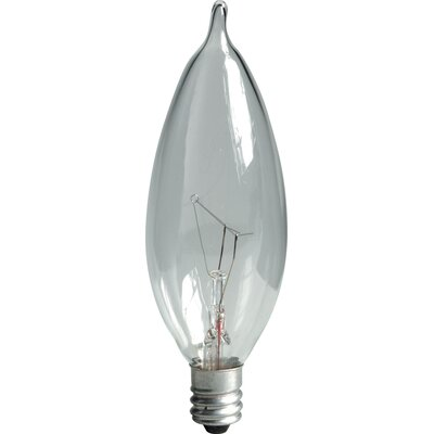 Incandescent Light Bulb Wattage: 25