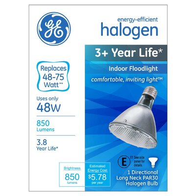48W Grey Halogen Light Bulb
