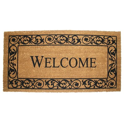 Bushman Wrought Iron Welcome Doormat