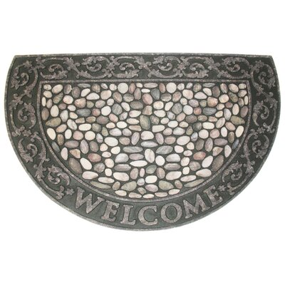 Welcome Pebbles Doormat