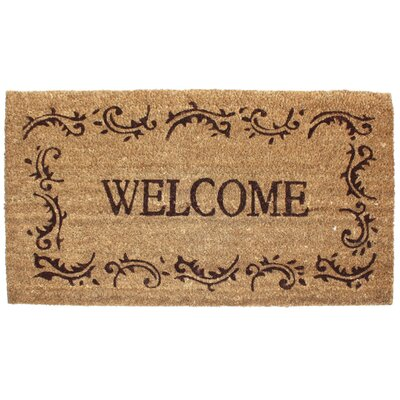 Welcome Filigree Doormat