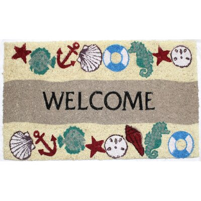 Seaside Welcome Doormat
