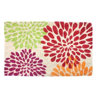 Floral Mums Doormat