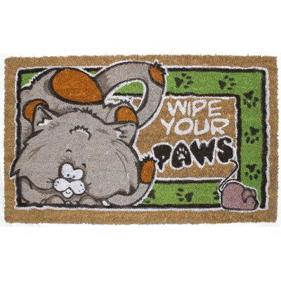 Wipe Your Paws Cat Doormat