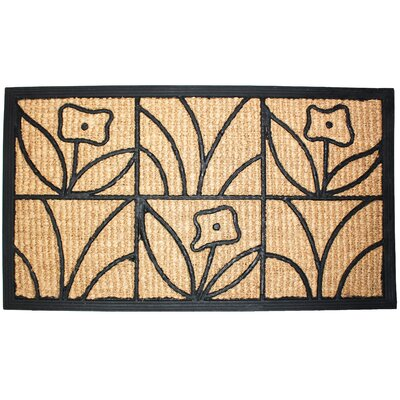 Light Daisy Natural Doormat