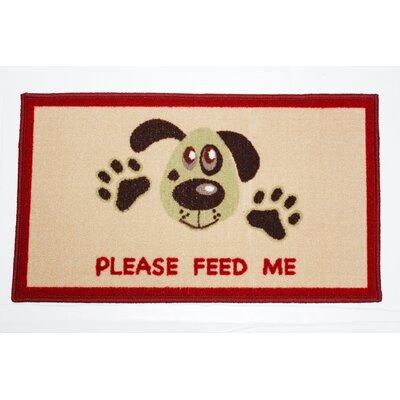 Please Feed Me Accent Doormat