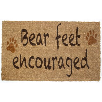 Bear Feet Doormat