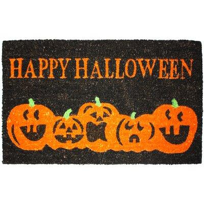 Halloween Pumpkins Doormat