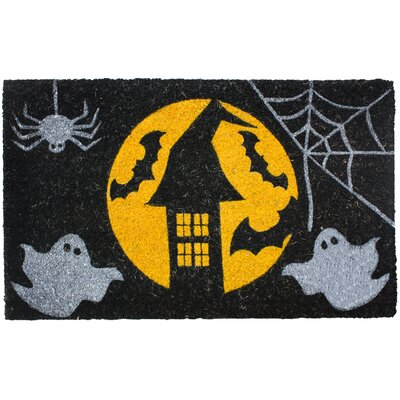 Halloween Full Moon Doormat