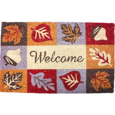 Harvest Welcome Icons Doormat