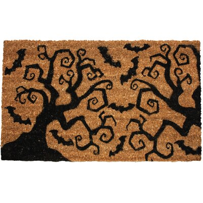 Halloween Bats & Trees Doormat
