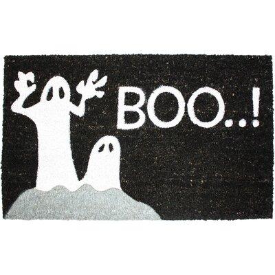 Halloween Boo Doormat