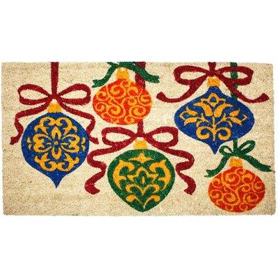 Christmas Ornaments Doormat