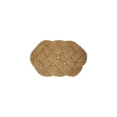 Knot Doormat Rug Size: 16 x 26