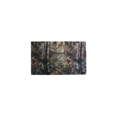 Realtree� Xtra Brown Windowpane Doormat Mat Size: 16 x 26