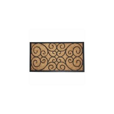 Heavy Doormat Rug Size: 16 x 26