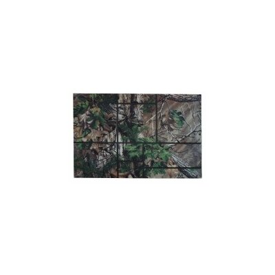 Realtree� Xtra Green Windowpane Doormat Rug Size: 2 x 3