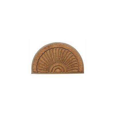Sunburst Doormat Rug Size: 2 x 3