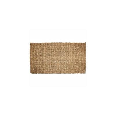 Plain Tile Loop Doormat Rug Size: 22 x 36