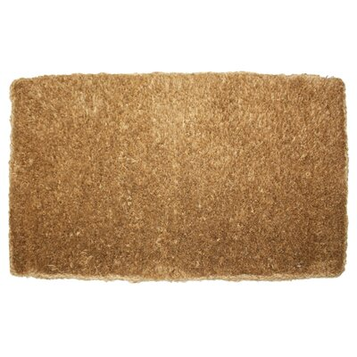 Brush Plain Doormat Rug Size: 16 x 26