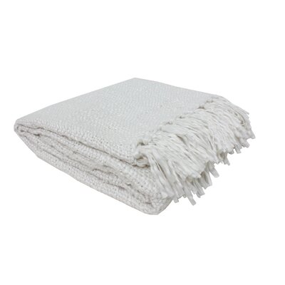 Luxury Weave Throw Color: Ivory