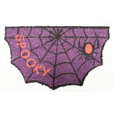 Halloween Spooky Spider Diecut Doormat