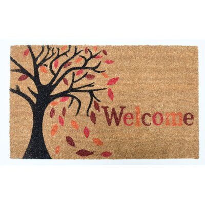 Harvest Welcome Tree Doormat