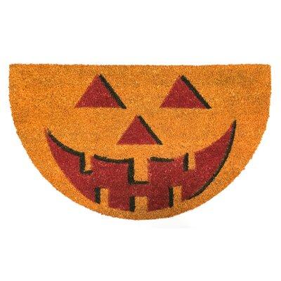 Halloween Jack O Lantern Diecut Doormat
