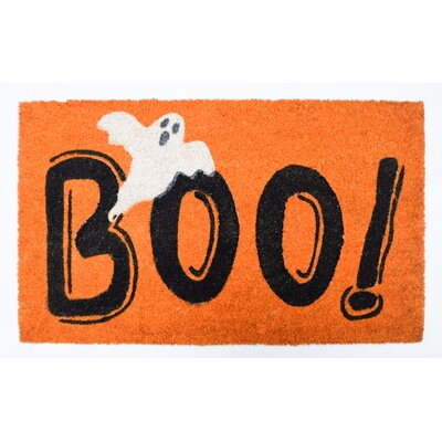 Halloween Boo! With Ghost Doormat