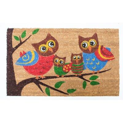 Harvest Owl Family Doormat
