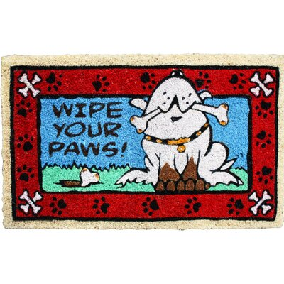 Wipe Your Paws Doggie Doormat