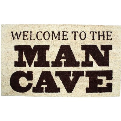 Welcome to the Man Cave Doormat