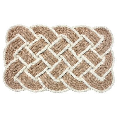 Lovers Knot Doormat Color: Beige