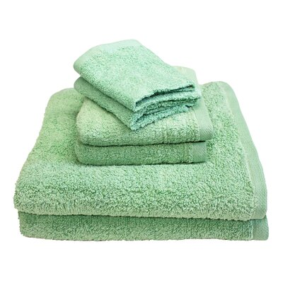 Portofino 6 Piece Towel Set Color: Seafoam