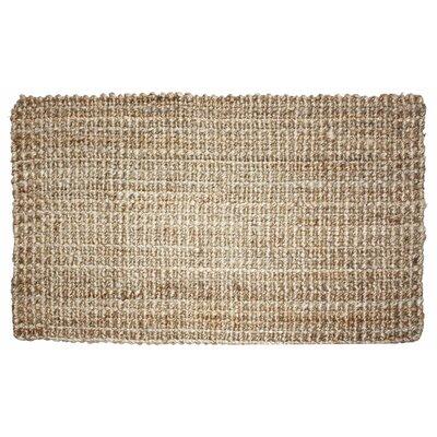 Jute Doormat Rug Size: 16 x 26